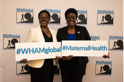 WHAMglobal Symposium Gathers Worldwide Leaders to Confront Maternal, Infant Mortality Crises Icon Image
