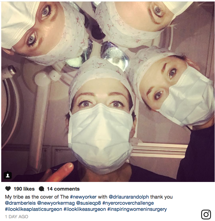 #ILookLikeASurgeon Campaign: Clever, Subversive Social Change  Icon Image