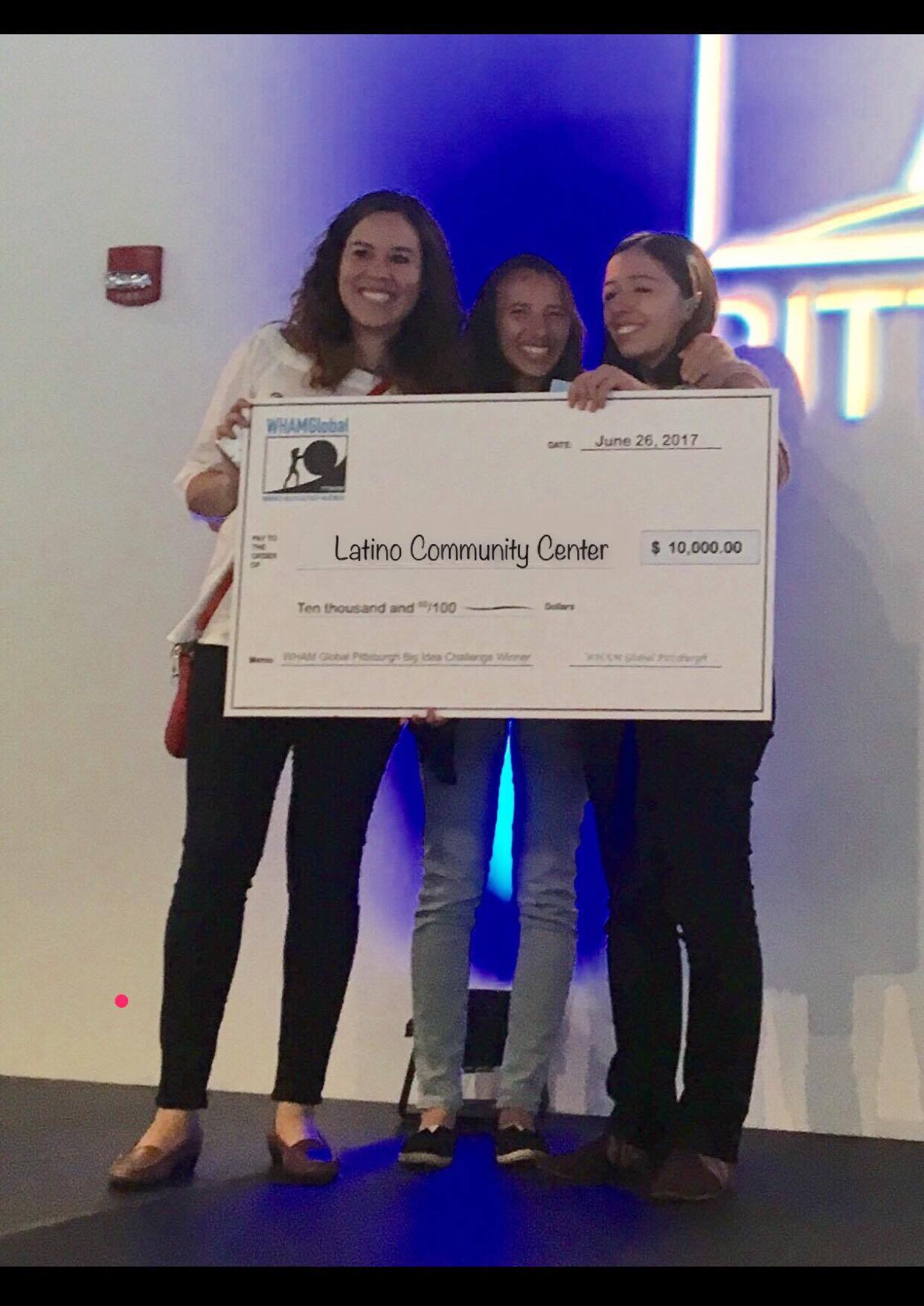 Congratulations to WHAMGlobal Pittsburgh's Big Idea Challenge Winner! Icon Image