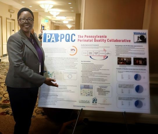 PA PQC's results highlighted at Transforming Women's Health symposium